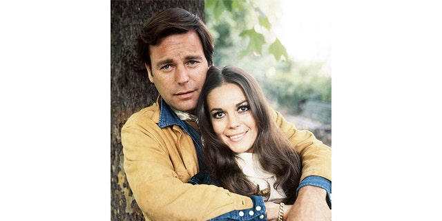 Natalie Wood with husband Robert Wagner.