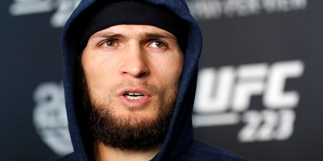 Khabib Nurmagomedov was reportedly seen on video slapping one of McGregor's friends.