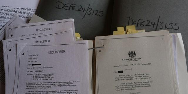 The UFO documents (Dr David Clarke/Sheffield Hallam University)
