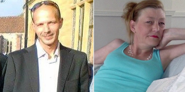 Dawn Sturgess, right, died on Sunday after she was exposed to the nerve agent Novichok. Charlie Rowley, left, remains hospitalized in critical condition.