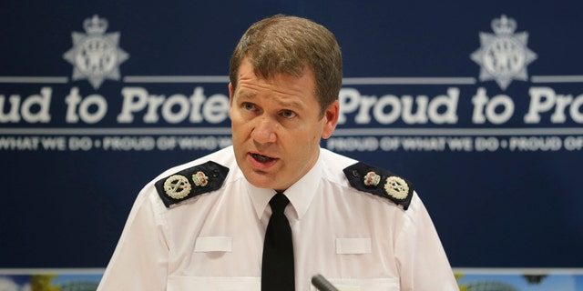 Northumbria Police Chief Constable Steve Ashman speaks during a press conference in Newcastle.