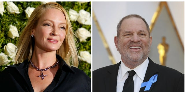 Harvey Weinstein was allegedly considering legal action against Uma Thurman following sexual assault claims.