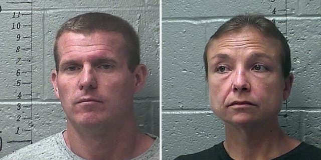"""Daryl J. Head, left, and Laura Cheatham were charged after children were found in what the sheriff described as """"deplorable"""" conditions in their home."""