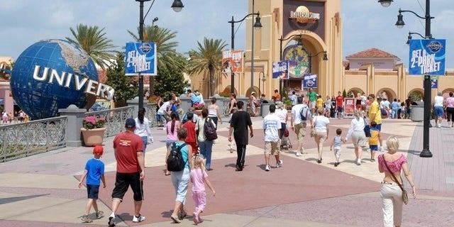 Universal Studios in Orlando. (AP Photo/Phelan M. Ebenhack)