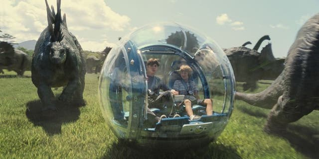 "The inspiration for the S-Pod, the gyrosphere from ""Jurassic World."""