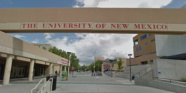 A professor at the University of New Mexico in Albuquerque has a pledge to illegal immigrants in her English class syllabus.