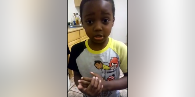 """Jeffrey Laney, 6, begs people in St. Louis to """"stop killing each other."""""""