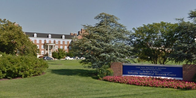 A screenshot of the USDA lab in Beltsville, Maryland.
