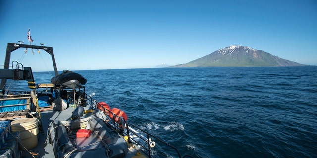 The remote Aleutian Islands extend 1,200 miles westward from the Alaska peninsula (Project Recover)