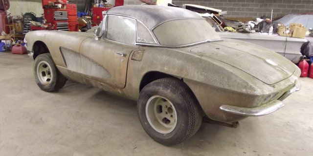 Moss Covered 1961 Chevy Corvette On Craigslist Is One Of A Kind