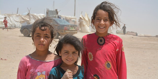 The displaced children of Mosul