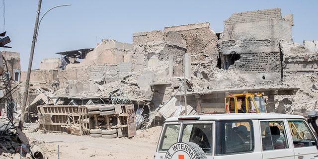 Mosul destruction.