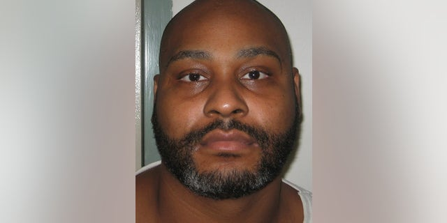 This undated photo provided by the Virginia Department of Corrections shows convicted murderer Ricky Gray.