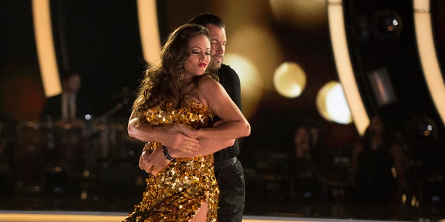 Vanessa Lachey takes center stage during ABC's 'Dancing with the Stars.'