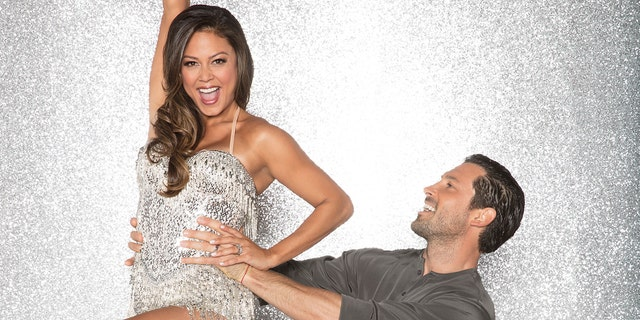 "Vanessa Lachey was sent home on last night's episode of ""Dancing with the Stars."""