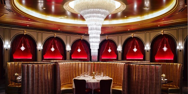 Carbone's Red Room. In October, the New York City restaurant opened at Aria.