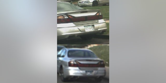 The 2001 Pontiac Bonneville police say Nicole Smith was placed in after she was abducted Thursday outside her job.