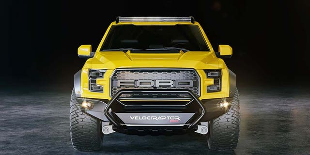 Hennesssey VelociRaptor 6x6 Ford F-150 will have you seeing double ...