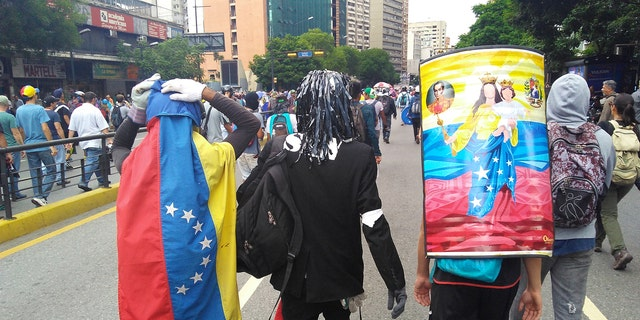 """""""The resistance"""", young people who are in the front line of the demonstrations in Venezuela"""