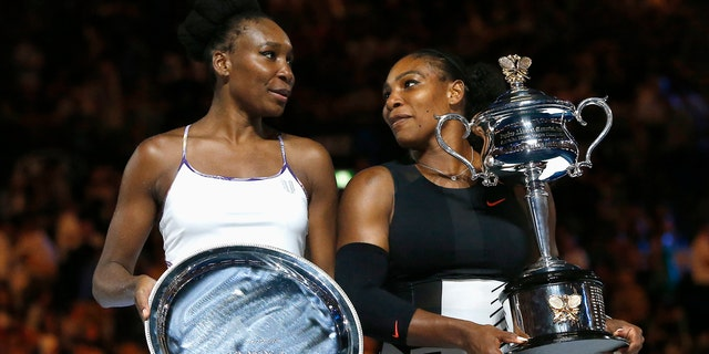 Tennis champion sisters Venus and Serena Williams, who the princess' sheep were reportedly named after.