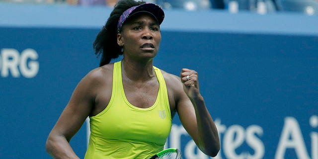 Venus Williams was defeated in straight sets.