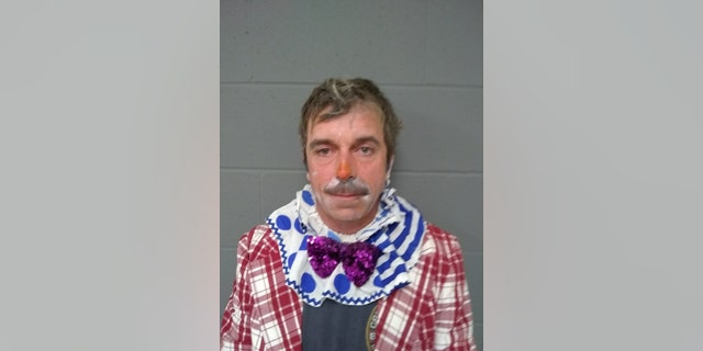 Sean Barber was arrested early Sunday.