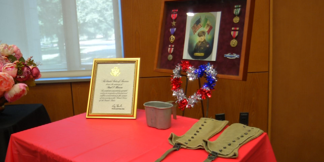 Private First Class Raul Herrera was awarded the Purple Heart over forty years after his service.