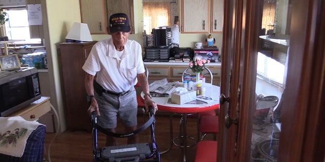 """Lucien """"Chet"""" Lebrun was recently given an eviction notice from his retirement community after his mobile home sustained damage during Hurricane Irma."""