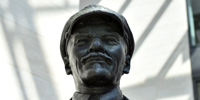 V.I. Lenin statue in Seattle