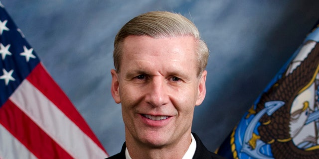 Vice Admiral Joseph Aucoin, commander of the Navy's 7th Fleet.