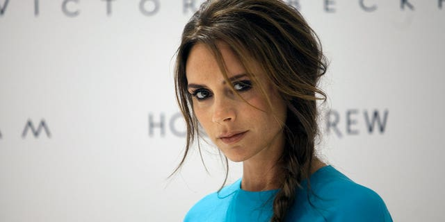 A pizza place in North East England is advertising its crusts as being thinner than Victoria Beckham.
