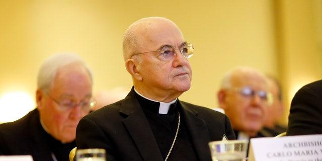 Archbishop Carla Maria Viganò.