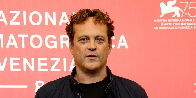 """FILE - This Sept. 3, 2018 file photo shows actor Vince Vaughn at the photo call for the film """"Dragged Across Concrete"""" at the 75th edition of the Venice Film Festival in Venice, Italy. Vaughn has been charged with drunken driving."""