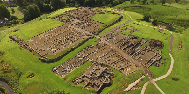 Archaeologists in England are excavating the ruins of the fort of Vindolanda, which was once at the northern edge of the Roman Empire.