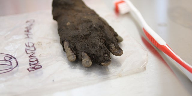 The artifact was found near Hadrian's Wall (The Vindolanda Trust)