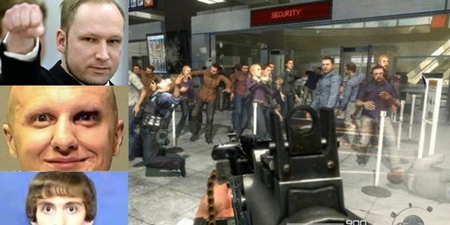 """Several mass killers, including Anders Breivik, Jared Lee Loughner and Adam Lanza, were active players of violent video games, including """"Call of Duty.,"""" shown here."""