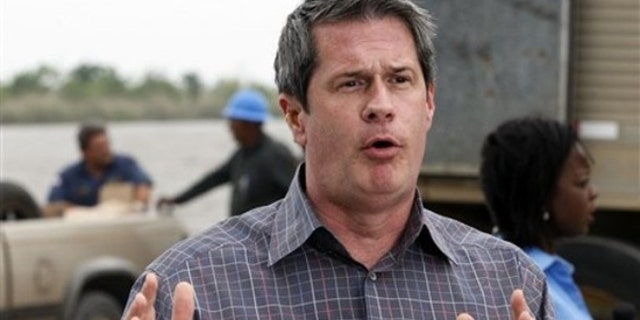 FILE: Louisiana Sen. David Vitter, who has been speaking to media about the Gulf of Mexico oil spill, on Wednesday fired an aide with a long line of legal problems, including misdemeanor charges relating to an attack on an ex-girlfriend. (AP)