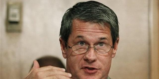 Sen. David Vitter speaks at a committee hearing Aug. 3 in Washington. (AP Photo)