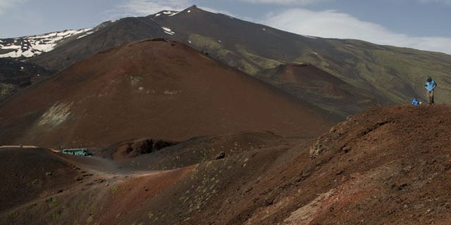 Parco dell'Etna . rif.Sapienza -Cratere Silvestri