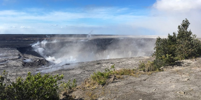 Halemaumau Crater continues to grow as new rockfall collapses and hundreds of earthquakes have been reported.