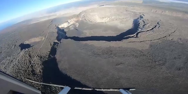 Activity has also slowed down at the summit of Hawaii's Kilauea volcano as of Tuesday.