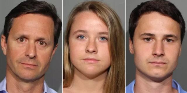 Jim, Hayden and Sophie Vos.
