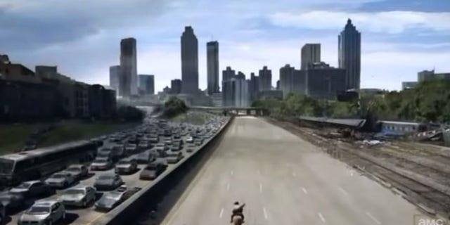 Get ready for a 'Walking Dead' ride.
