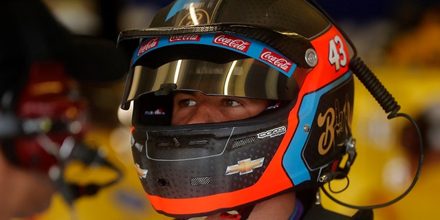 Darrell Wallace Jr. drives the iconic #43 car for Richard Petty Motorsports in the NASCAR Cup series.