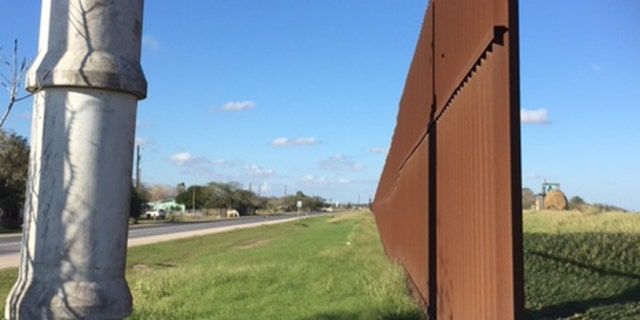 One of several border gaps in Brownsville, Texas. (FoxNews.com/Barnini Chakraborty)