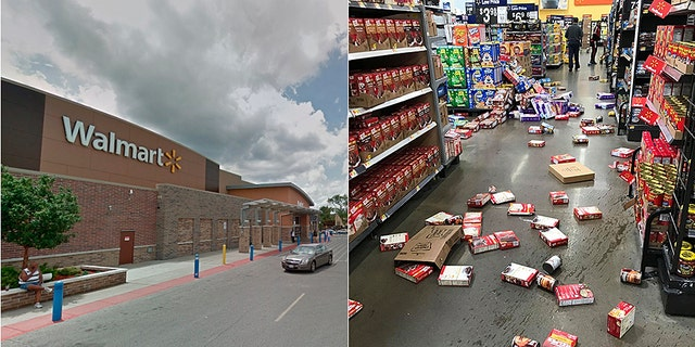 Chicago high school students vandalized a Walmart on Wednesday, witnesses said.