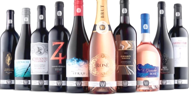 Sourced from California, France and Italy, the vino retails for around $11 a bottle.
