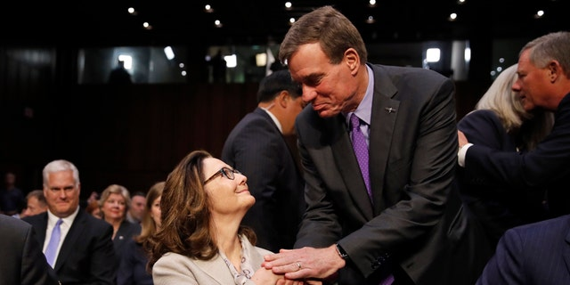 Senate Intelligence Committee Vice Chairman Mark Warner endorsed President Trump's CIA nominee, Gina Haspel, on Tuesday.
