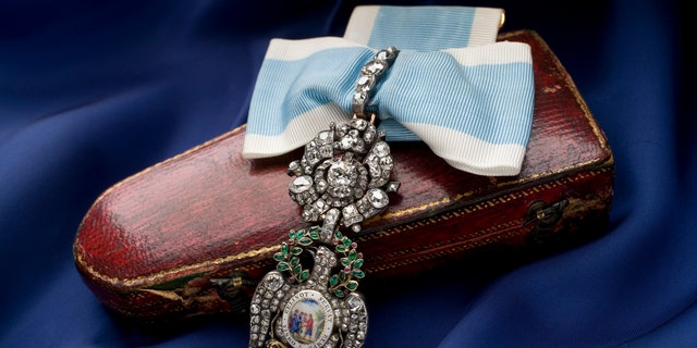 The Diamond Eagle medal