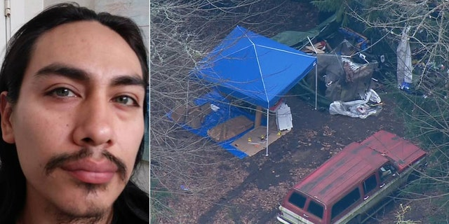 A body found in a river in California last April has been identified as Jacob Gonzales. The 35-year-old had been sought in slaying of a 26-year-old woman found beheaded near a survivalist bunker in Washington in 2018.
